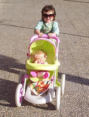 Y el domingo, de paseo con Nenuco