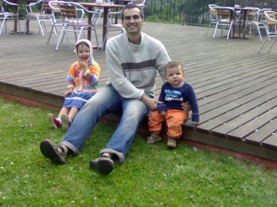 Con el tío Carlos