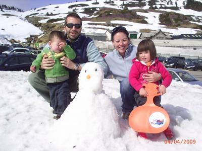Hoy hemos ido a la nieve!