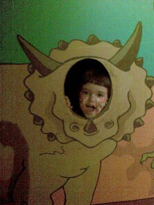 Soy un dinosaurio!!!!!!