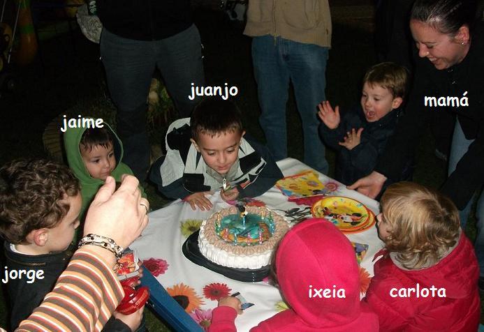 HOY CUMPLO 4 AÑOS!!!