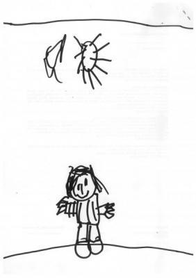 Hoy he dibujado a papá