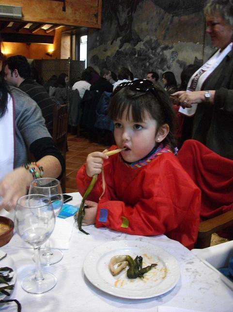 Calçotada en Picamoixons (Tarragona)